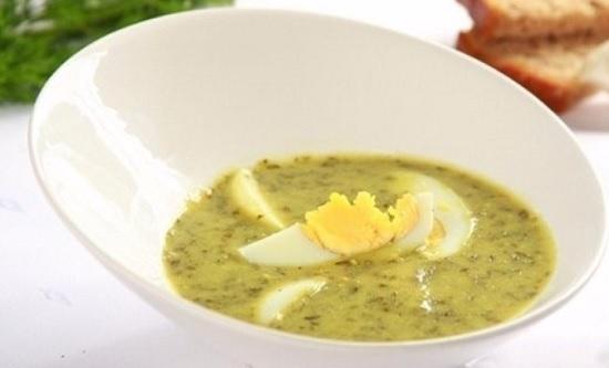Суп со щавелем, рецепт