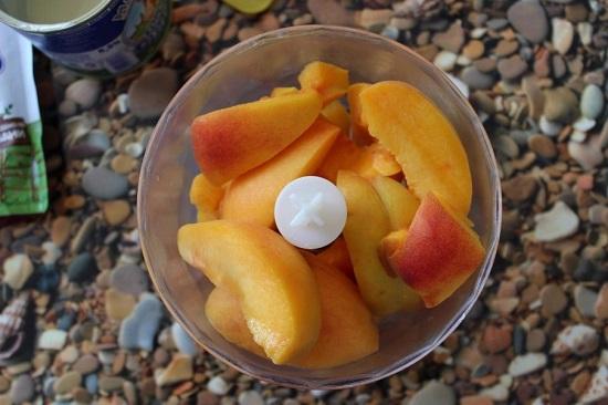 Режем персики