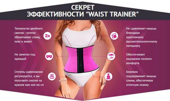 Утягивающий корсет Waist Trainer