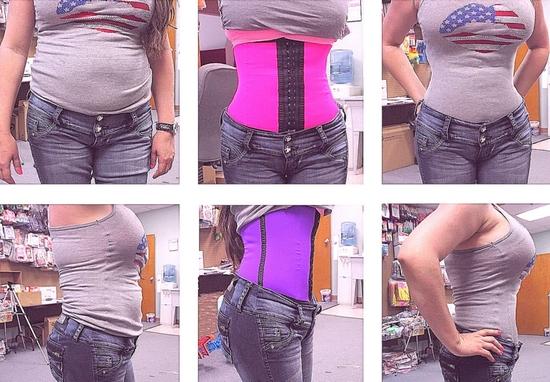 Как работает корсет для похудения Waist Trainer?