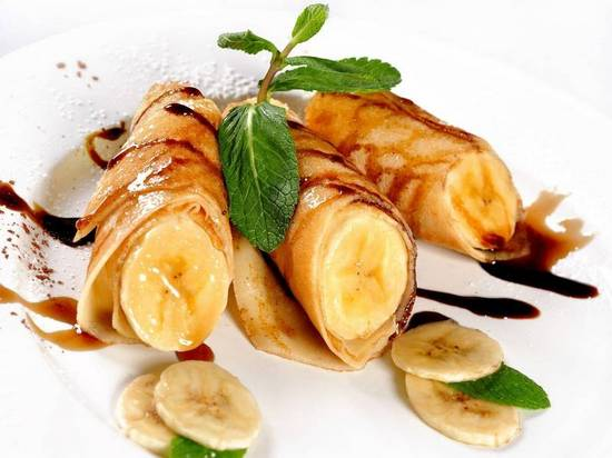 десерт с бананами