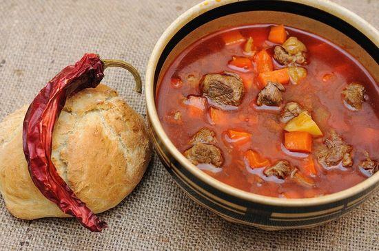 густой суп по-венгерски