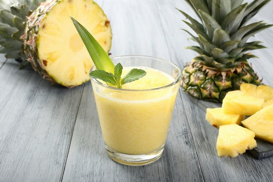 использовать ананас для похудения