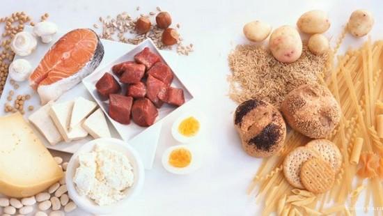 Чередование белковых и углеводных дней