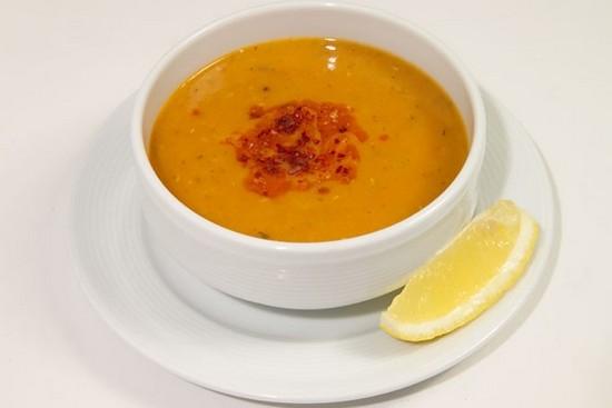 чечевичный суп-пюре по-турецки