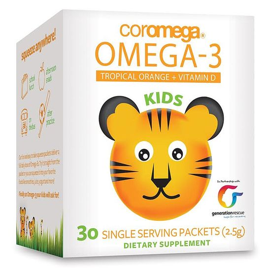 мега 3 полезны для детей