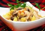 Индейка с картошкой в мультиварке: рецепты