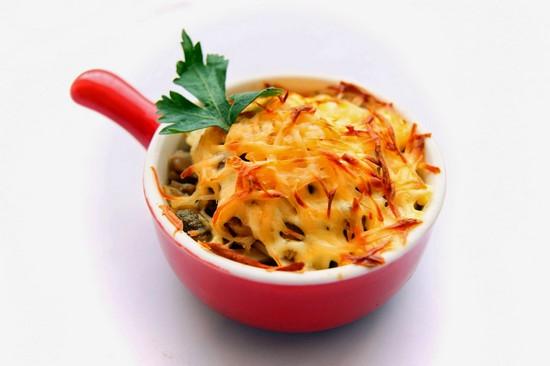 Как приготовить жульен с курицей и грибами: рецепты с фото