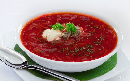 Калорийность борща на говядине с зажаркой и сметаной. Рецепты приготовления вкусного красного борща