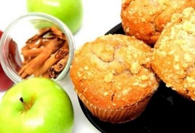 Маффины с яблоками (с корицей, творожные): рецепты с фото