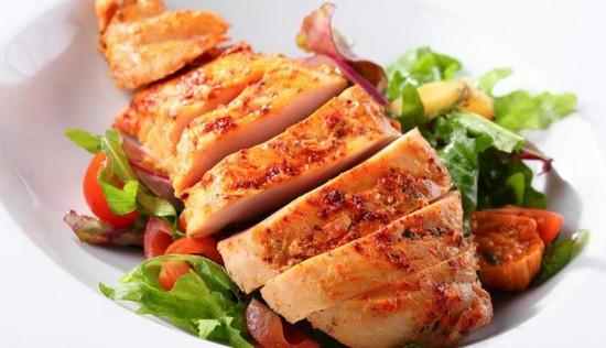 куриная грудка – сытный продукт