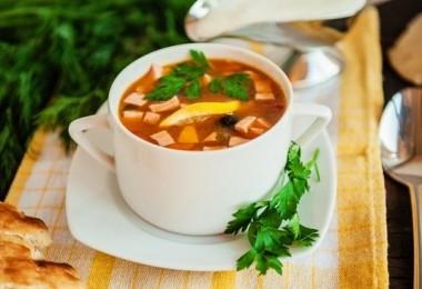 Солянка на курином бульоне: рецепты с фото