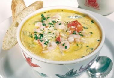 Суп из морепродуктов: рецепт «Морской коктейль» с пошаговыми фото