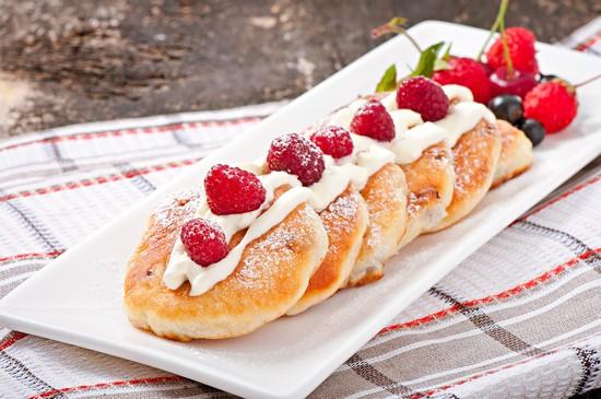 калорийность сырников из обезжиренного творога