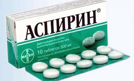Обертывания с аспирином