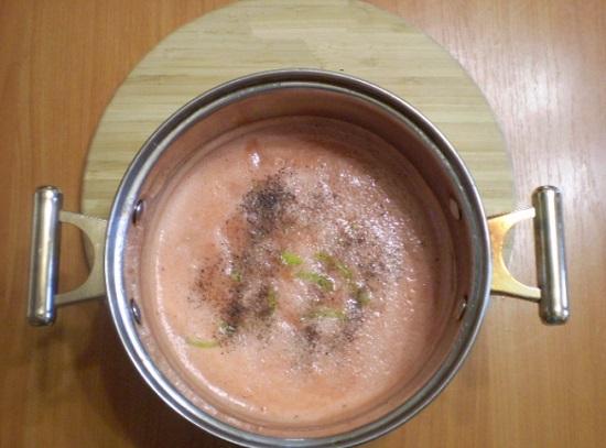 В сок добавим перцы болгарские