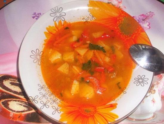 Венгерский суп-гуляш: рецепт с фото