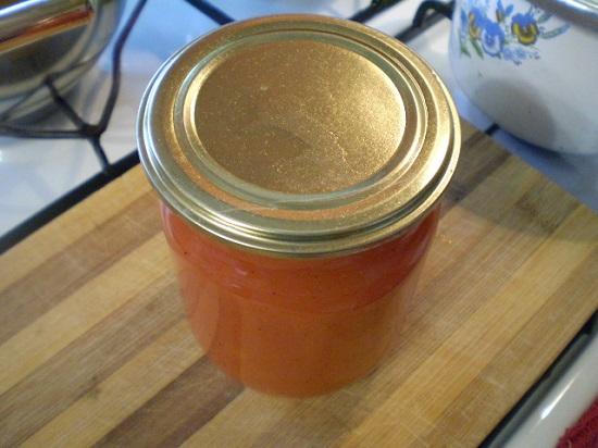 томатный сок на зиму с перцами болгарскими