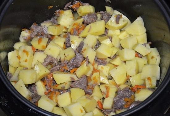 Шулюм из говядины в мультиварке рецепт с фото