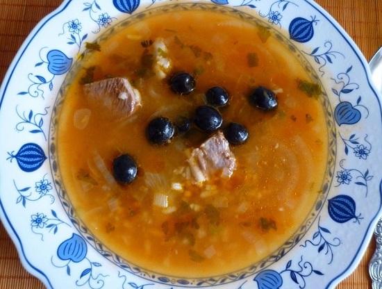 Суп-харчо с бараниной: рецепт с фото