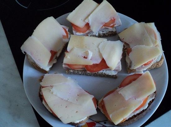 сырные ломтики
