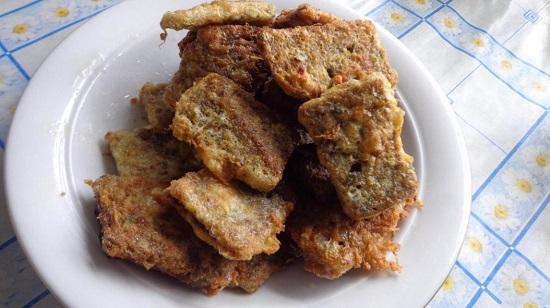 вкусные гренки из черного хлеба с чесноком