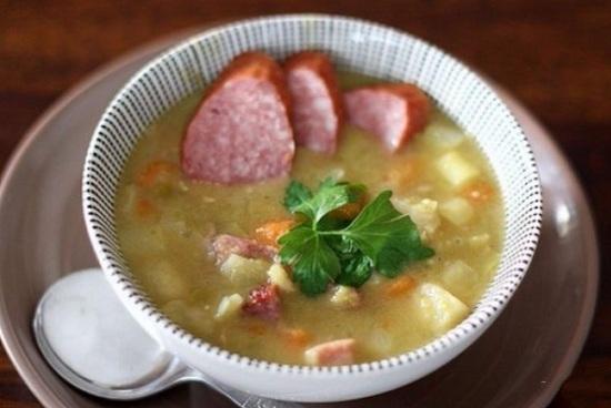 Суп с колбасой для вкусного обеда: рецепты пошаговые с фото