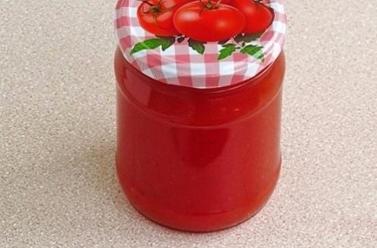 вкусный сок из томатов на зиму