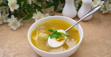 Куриный суп с яйцом: советы и рецепты