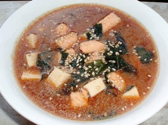 рыбный «Мисо» суп