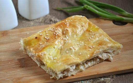 Пирог с куриным фаршем – заливной и слоеный