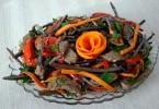 Салат из папоротника (по-корейски, с яйцом, мясом): рецепты