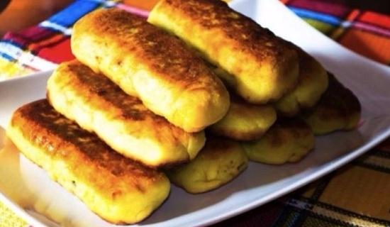 Рулет из картофельного пюре с фаршем: рецепт простой