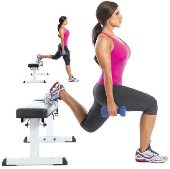 можете выполнить упражнение с отягощением