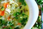 Рассольник с рисом и солеными огурцами: рецепты