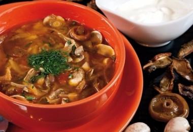 Солянка из квашеной капусты: рецепт с грибами, мясом