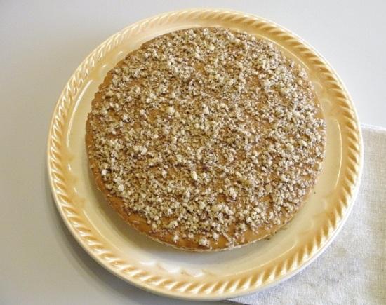 Классический торт из вафельных коржей со сгущенкой
