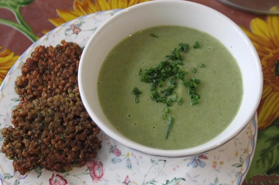как готовится традиционный суп «Вишисуаз»