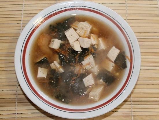 «Мисо» суп с креветками