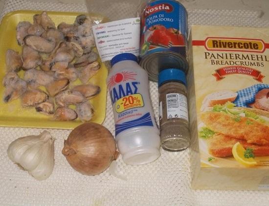 начинаем с подготовки необходимых ингредиентов