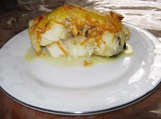 Как приготовить зубатку в духовке в фольге с картошкой?
