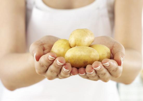 сок из очищенного картофеля