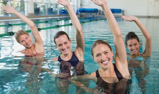 Аквааэробика: эффективные упражнения