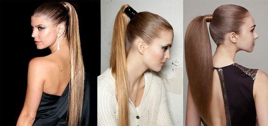 укладка длинных волос