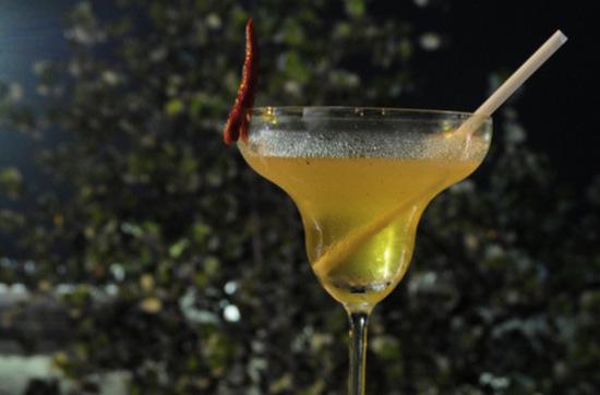 коктейль из абсента с шампанским