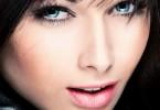 макияж для брюнеток с голубыми глазами