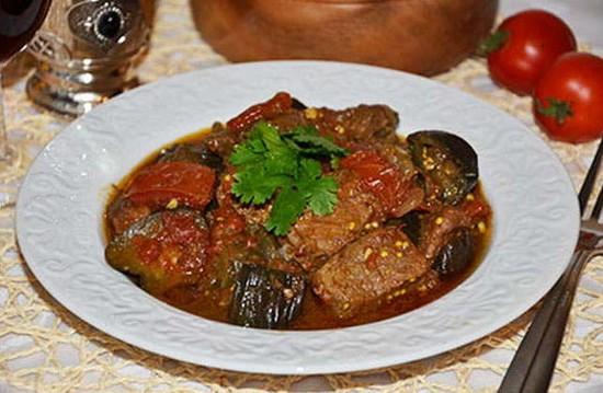 Баклажаны с мясом: рецепты с картошкой, кабачками, помидорами