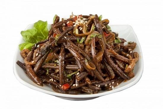 Рецепт папоротника по-корейски