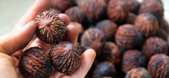 полезные свойства черного ореха, есть и противопоказания