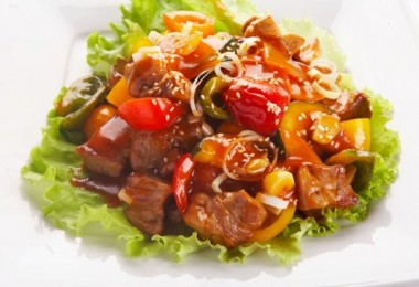 Курица под соусом «Терияки» (в духовке, с овощами): рецепты с фото